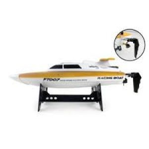 FT007 4-Channel 2.4G High-Speed Racing RC Boat
