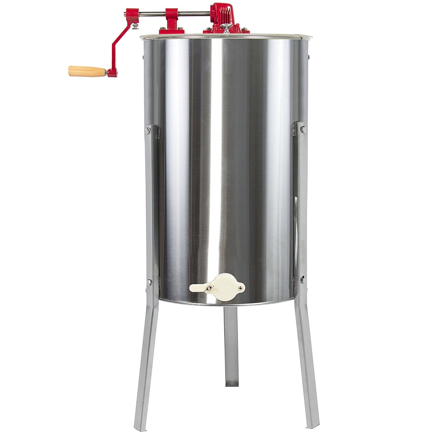 Best Choice Products 2 Frame Stainless Steel Honey Extractor Beekeeping Equipment