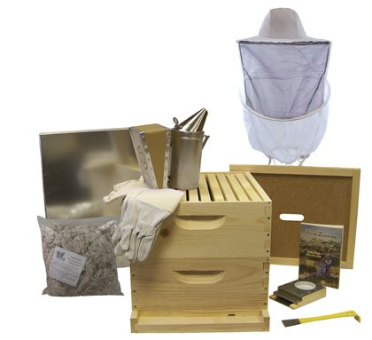 BuildaBeehive 10 Frame Deluxe Beehive Starter Kit