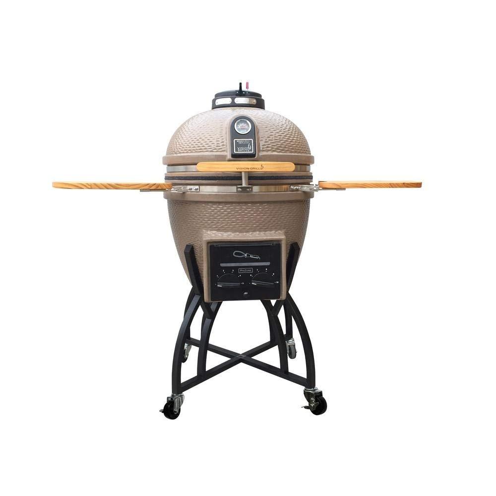 kamado charcoal grill