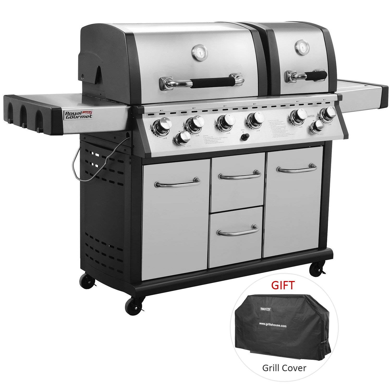 mirage propane grill