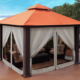 best 10x10 gazebos with mosquito netting